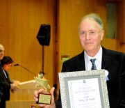 Prof. Leonard Lennie Blieden receives Award for Lifetime Achievement