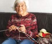Rosemarie is Still Knitting – at Nearly 95